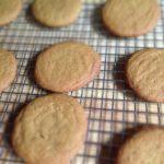 Homemade Ice Cream Sandwiches with Molasses Cookies