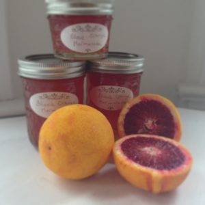 Scarlet-hued blood oranges makes a very rosy marmalade.