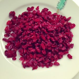 Dried barberries are a key ingredient in Persian and Middle Eastern cooking.