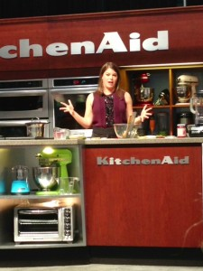 Cooking demo with Chef Gail Simmons