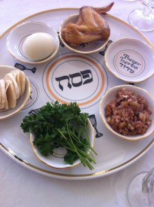 The Seder plate is one of the must-have elements of a Passover meal.