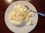 Homemade ricotta from the new cookbook Homemade with Love by Jennifer Perillo.