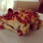Smoked Mozzarella Bread Pudding for Mother's Day Brunch