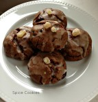 Chocolate Spice Cookies for Tasting Jerusalem