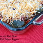 Poblano Peppers Stuffed with Rice and Black Beans