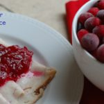 Homemade Cranberry Sauce for National Cranberry Day