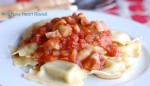 artichoke heart ravioli