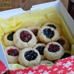 Lemon-Scented Jam Thumbprint Cookies for the Great Food Blogger Cookie Swap