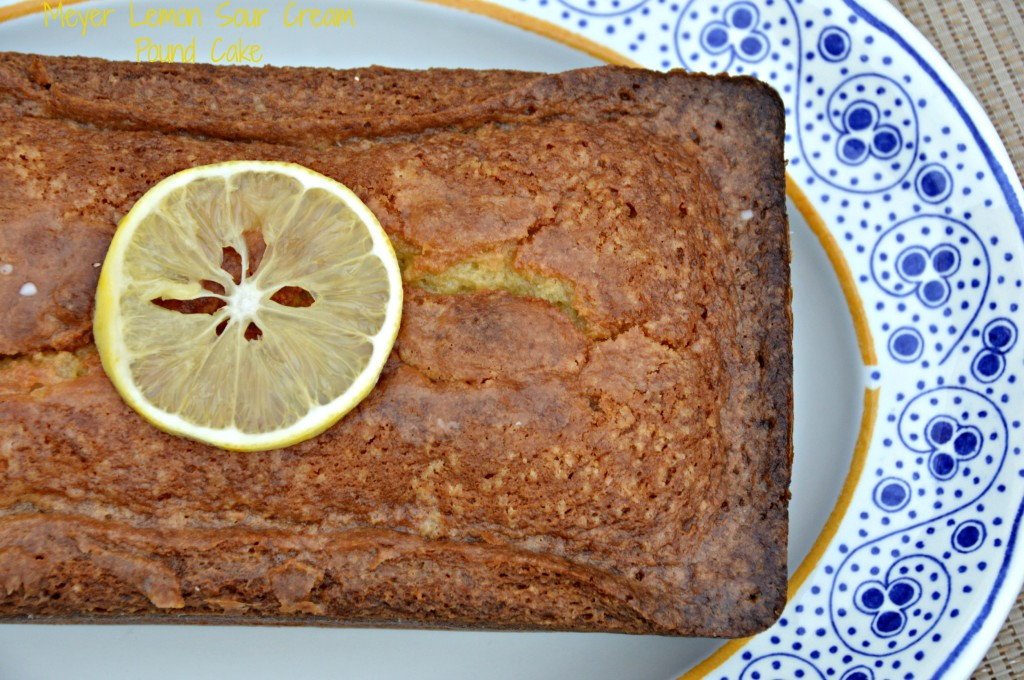 Meyer Lemon Sour Cream Pound Cake - West of the Loop