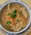 Asian Chicken Noodle soup
