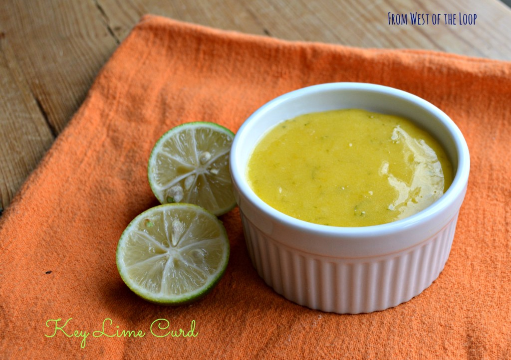 how to make key lime curd