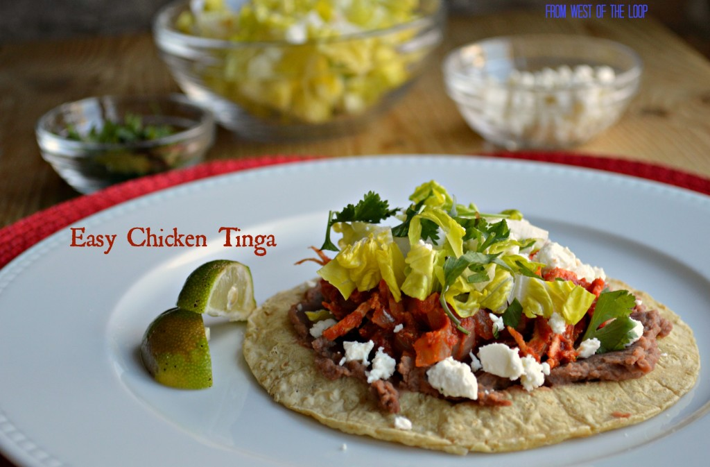 Chicken Tinga Tostadas for Easy Weeknight Mexican Flavor - West of the ...
