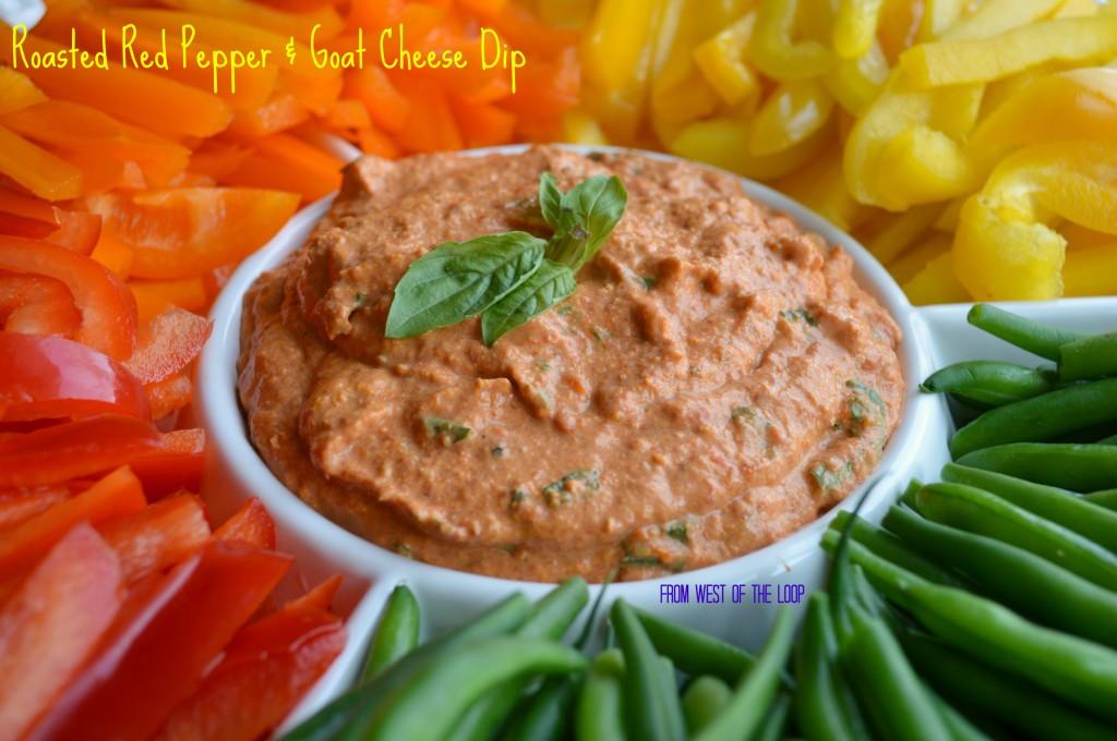 Roasted Red Pepper Dip - West of the Loop