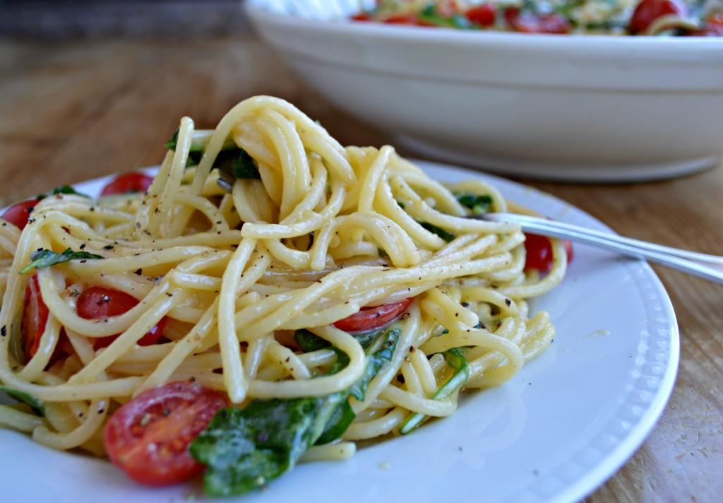 spaghetti a la carbonara recipe