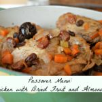 Chicken with Dried Fruit and Almonds for Passover