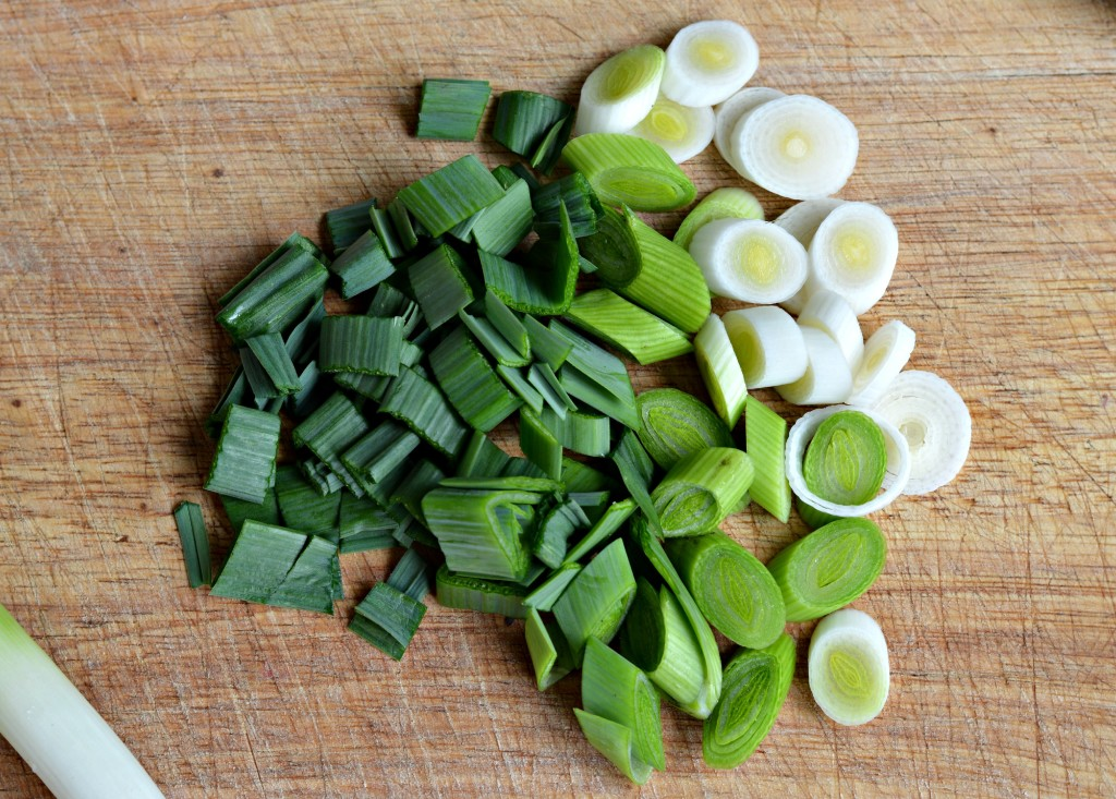 how to use green garlic