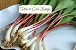 how to cook with ramps