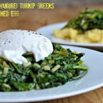 Sautéed Turnip Greens with Green Garlic