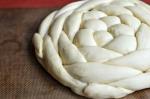 braided round challah