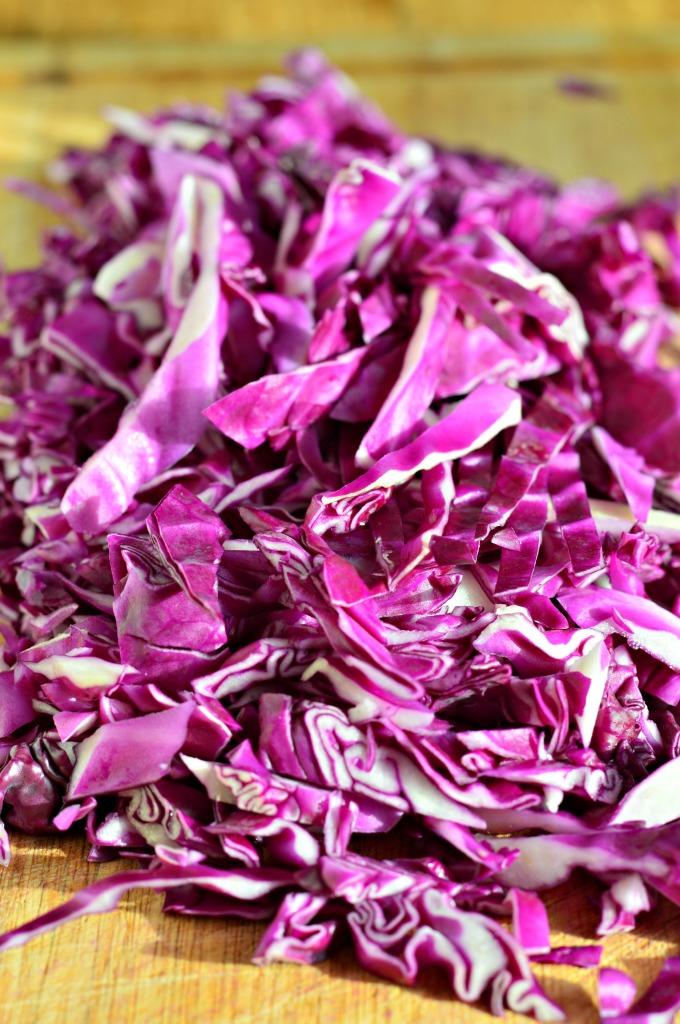 how to prepare red cabbage