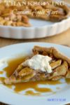 Thanksgiving Dessert: Caramel Apple Tart