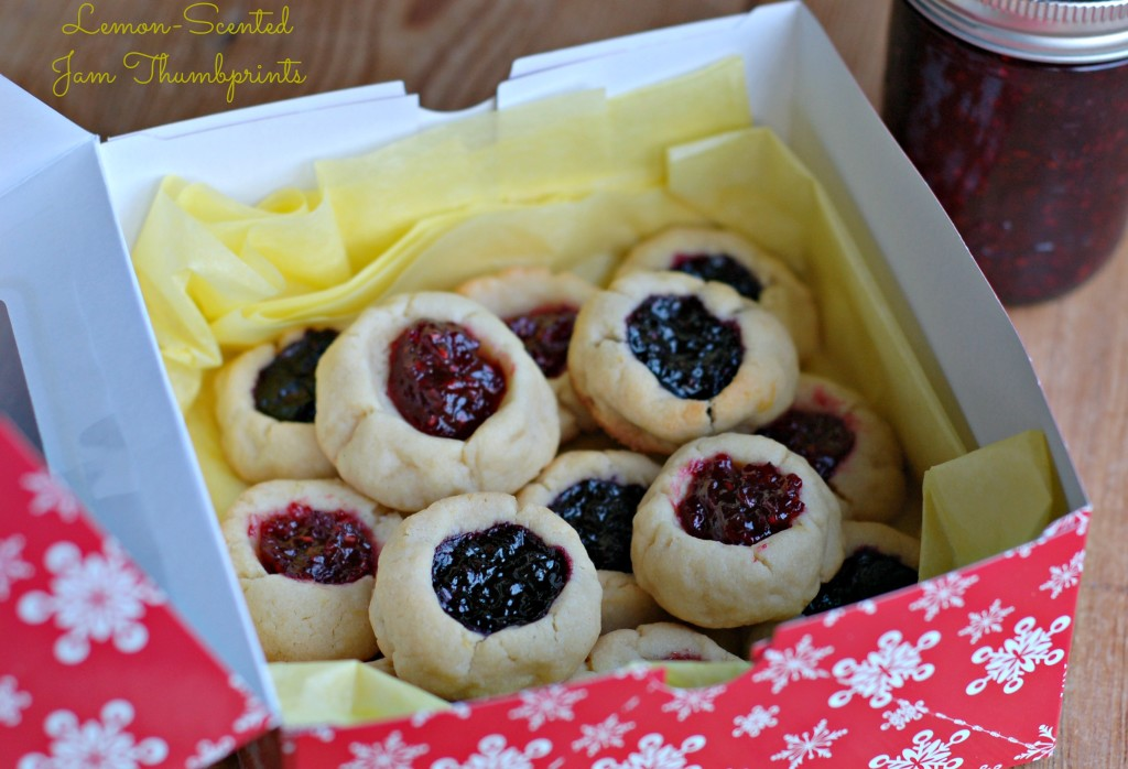 Cookie Exchange: Lemony Jam Thumbprints - West of the Loop