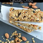 Healthy Snack Idea: Homemade Plum Almond Granola Bars