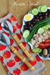 New Year's Resolution Dinner: Nicoise Salad
