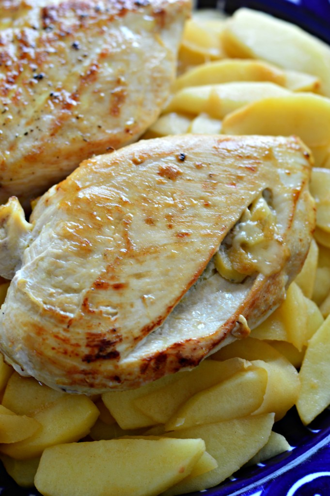 Apple & Gorgonzola-Stuffed Chicken Breasts - West of the Loop