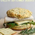 White Cheddar Cheez-It & Rosemary Biscuits