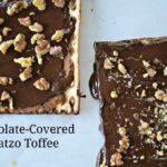 Chocolate-Covered Matzo Toffee
