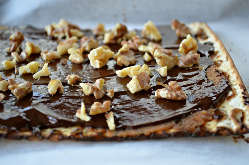 So, indulge in a little chocolate-covered matzo toffee this Passover ...