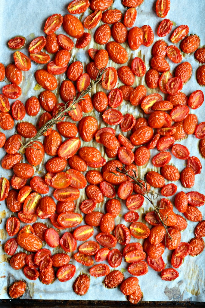 how to roast cherry tomatoes