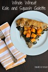 Whole Wheat Savory Galette: Butternut Squash and Kale