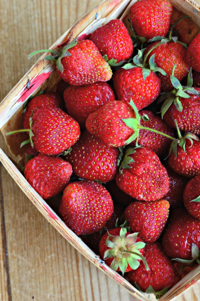 how to use a flat of strawberries