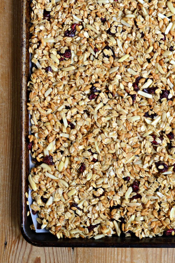 homemade granola easy diy
