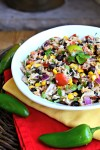 Southwestern Tuna with Rice, Corn and Black Beans