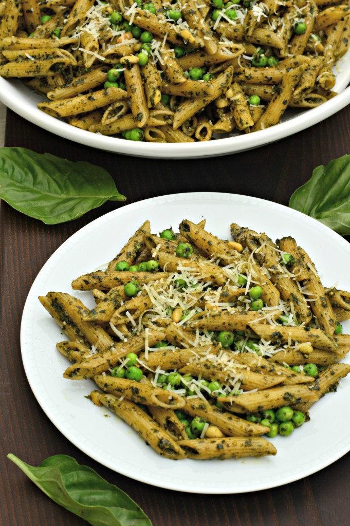 Penne with Pesto and Peas - West of the Loop