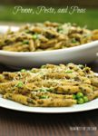 Penne with Pesto and Peas