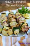 Yogurt-Marinated Chicken Kabobs