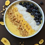 Tropical Smoothie Bowl for Breakfast
