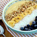 Tropical Smoothie Bowl with Silk Dairy-Free Yogurt