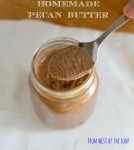 Homemade Pecan Butter