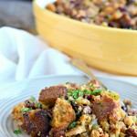 Chipotle, Pecan, and Cranberry Cornbread Stuffing
