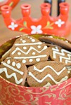 Holiday Baking: Iced Gingersnaps