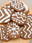 Iced Gingersnaps