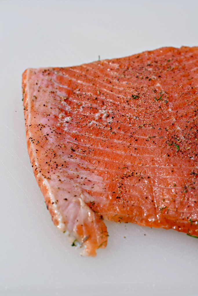 how to cure salmon