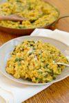 how to make farro risotto