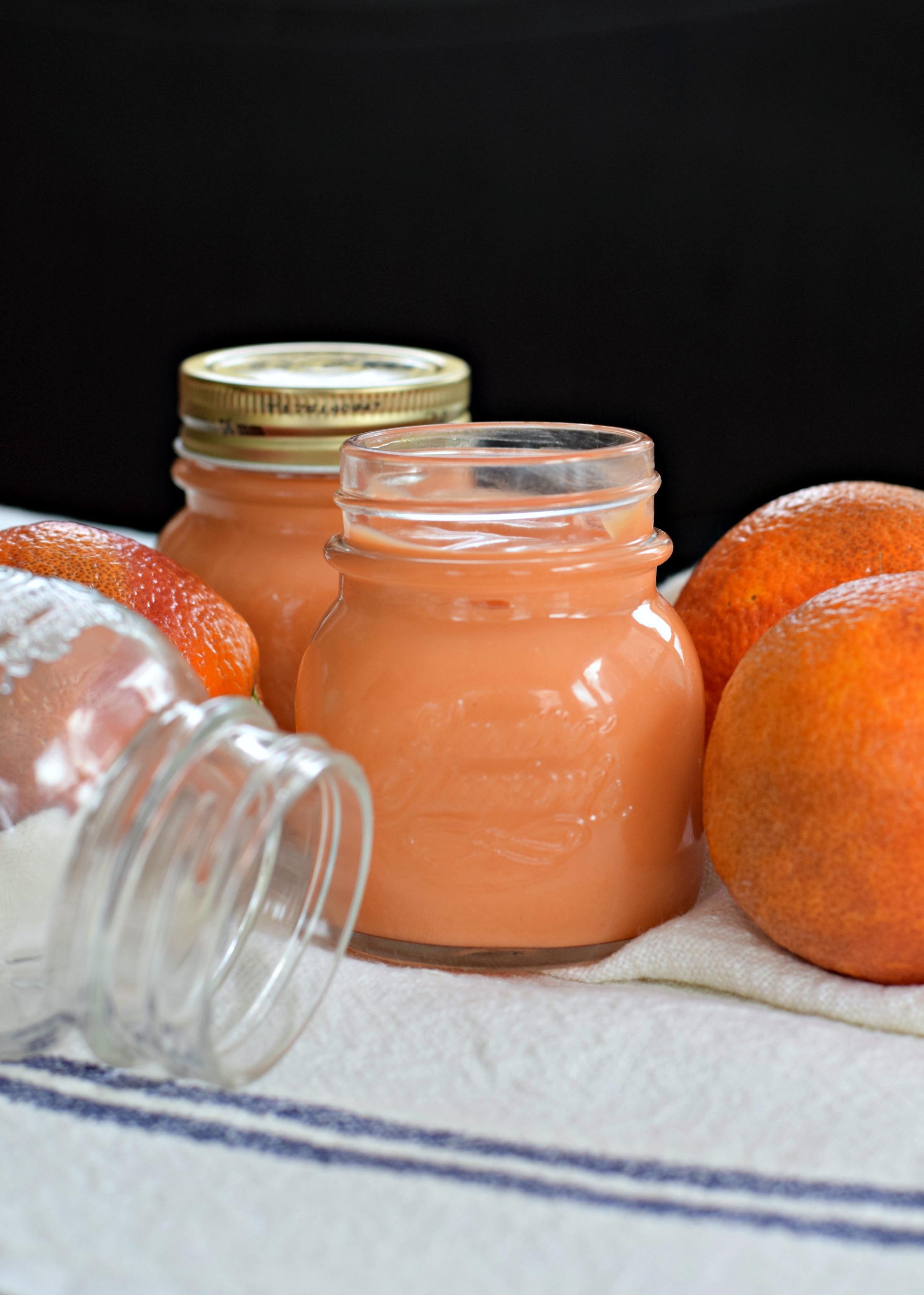 blood-orange-curd-empty-jar - West of the Loop