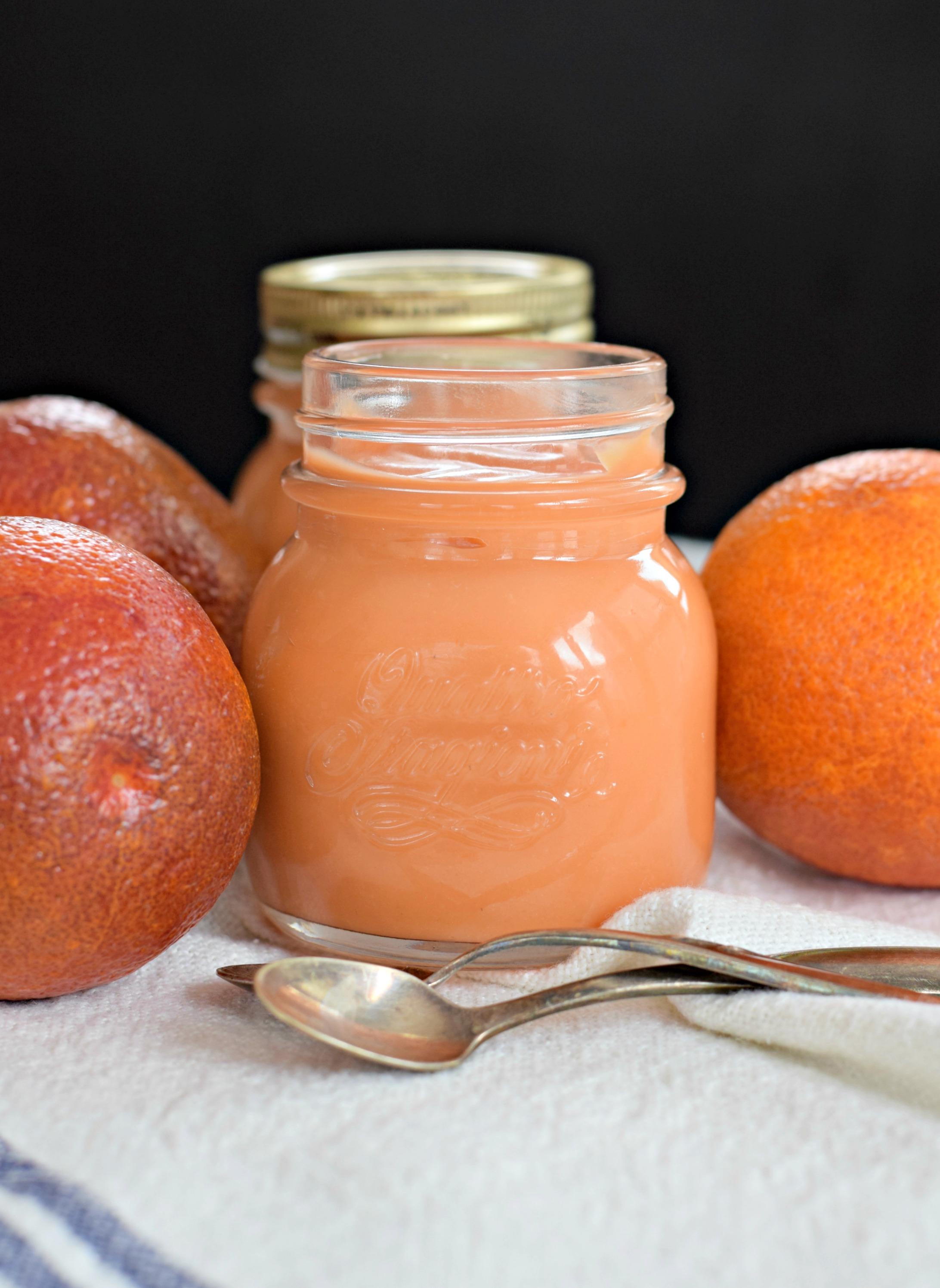 blood-orange-curd-spoons - West of the Loop